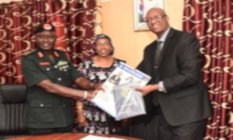 CDS Drammeh Calls on GRA Commissioner General