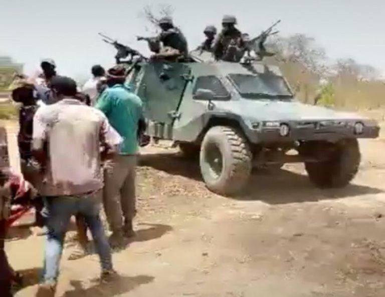 Patrol Troops Deployed Upon Senegalese Soldiers Entering Gambian Territory